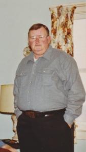 Dad, Christmas 1990