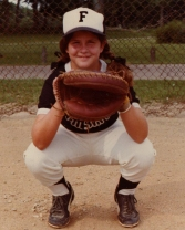 I loved that catcher's mitt.  It's the one Dad and my grandmother bought me when I was nine.